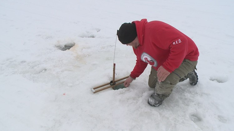 Ice fishing derby to support veterans and first responders