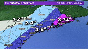 Snow forecast: Coastal Maine sees the most this time | Breton Blog