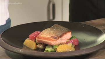 Arctic Char, as prepared by an SMCC culinary student
