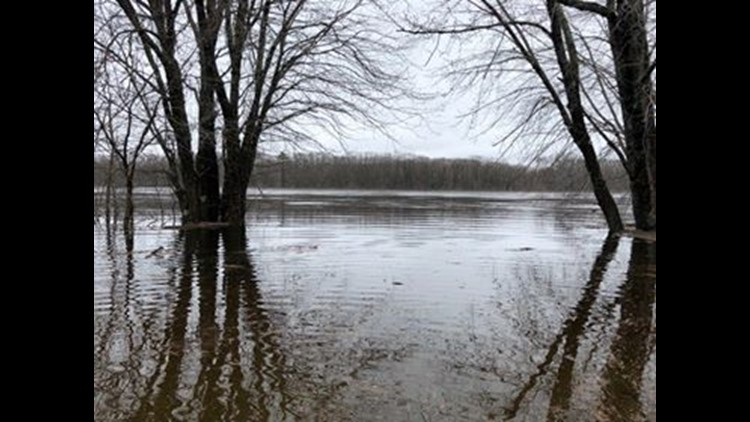 Flooding in Milford