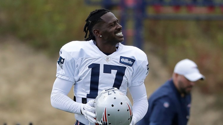 Patriots cut star WR Antonio Brown after just 1 game
