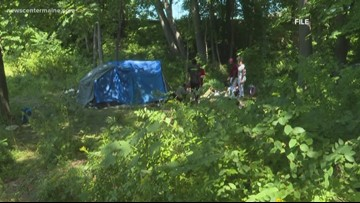 Police warn Sanford residents not to donate to homeless camps