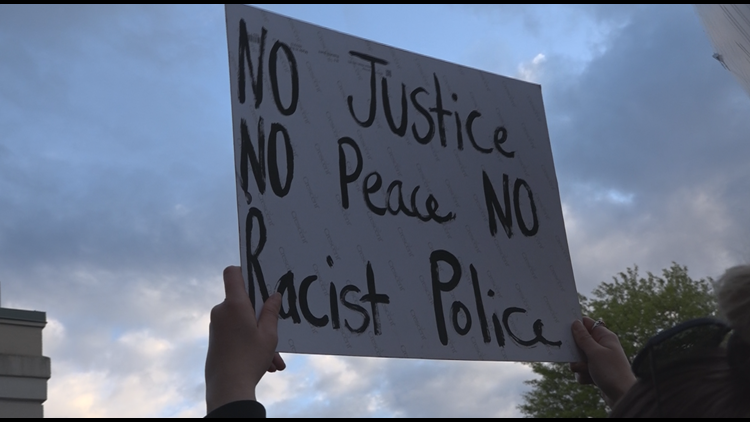 """Black Lives Matter Portland responds to statement from Maine Assoc. of Police:  """"Be better."""""""