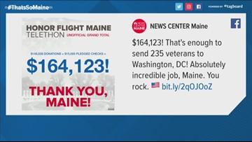 Honor Flight Maine telethon raises $164K