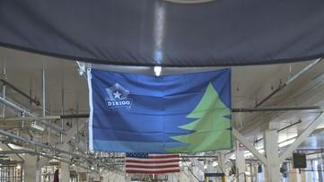 Producing Maine's bicentennial flag in Skowhegan