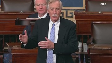 Maine Independent Senator Angus King on Senate Intelligence Committee's report on Russian interference in 2016 U.S. presidential election