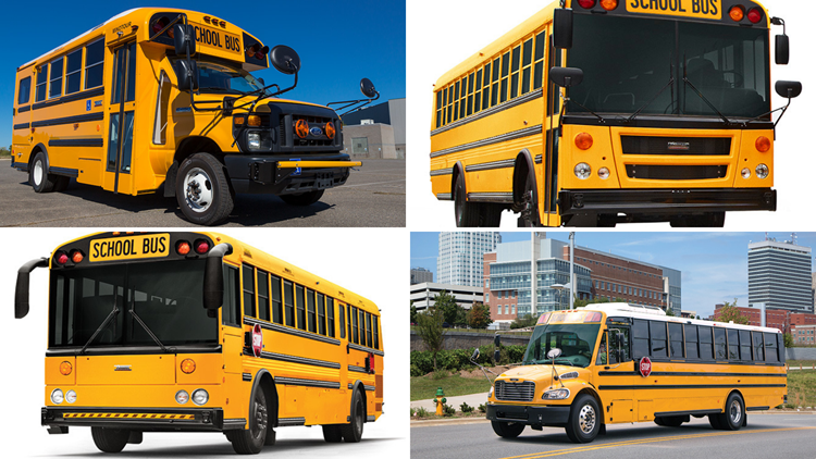 Some Maine school buses being recalled due to safety concern
