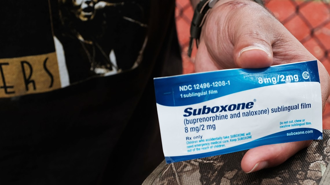 Drug used to treat opioid addiction Maine's 2nd most common