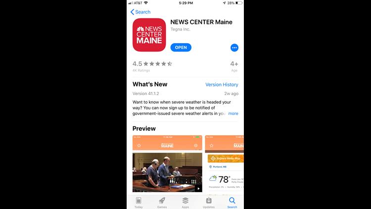 NEWS CENTER Maine app