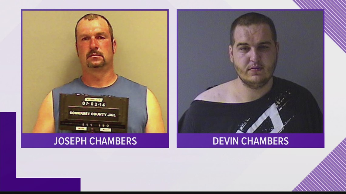Father and son arrested after leading police on chase