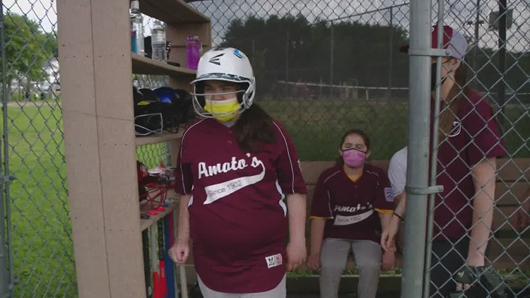 The Biddeford Little League Challenger Division hits a homerun with its players