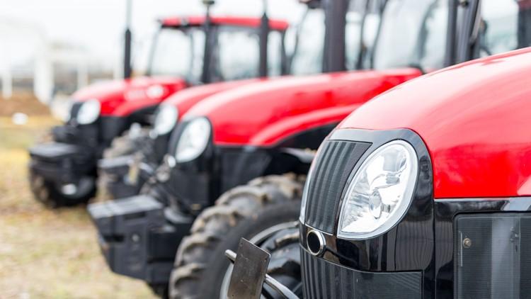 Tractors-outdoors