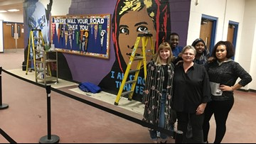 Brush strokes break down barriers at Lewiston High School