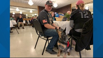 K9 helps Maine veteran cope with panic attacks