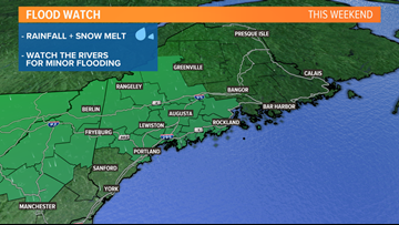 WET WEEKEND: Rain and snow melt could lead to some flooding | CORY'S BLOG