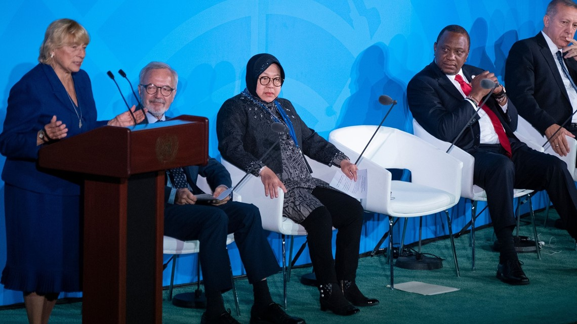 Gov. Mills tells United Nations 'Maine won't wait'