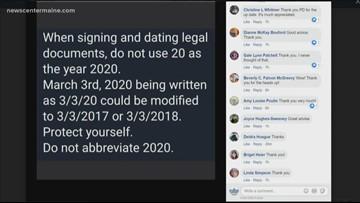 Police warning: don't abbreviate 2020