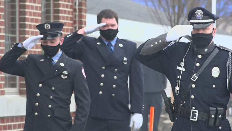 Berwick community gathers to honor the death of fire Captain two years after he died saving a fellow firefighter