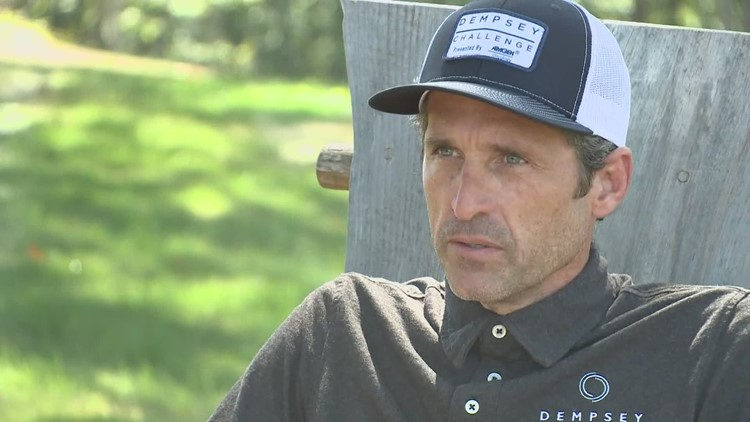 Patrick Dempsey gears up for the virtual Dempsey Challenge