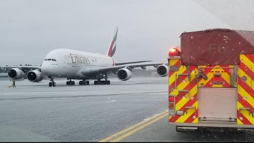 Largest passenger plane in the world makes emergency landing in Maine