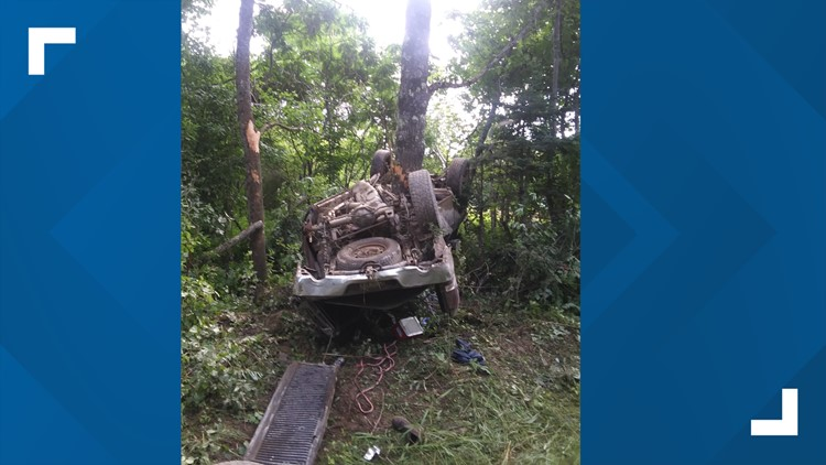 One Injured Taken To Hospital After Rollover In Corinth