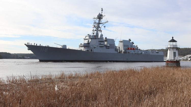 US Navy awards BIW $55M contract modification for Arleigh Burke work