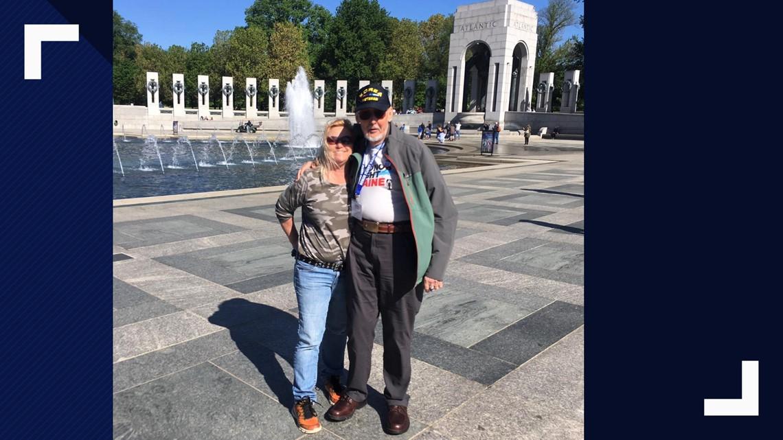 Veterans Return From Honor Flight Maine 2019