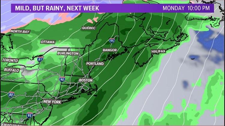 Rain Returns Monday