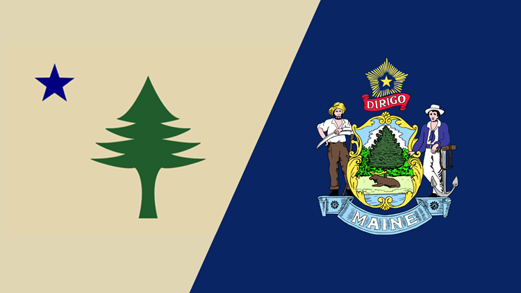 Bill would reinstate pre-1909 Maine state flag