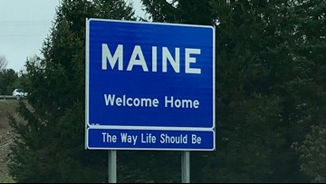 'The Way Life Should Be' returns to welcome sign in Kittery
