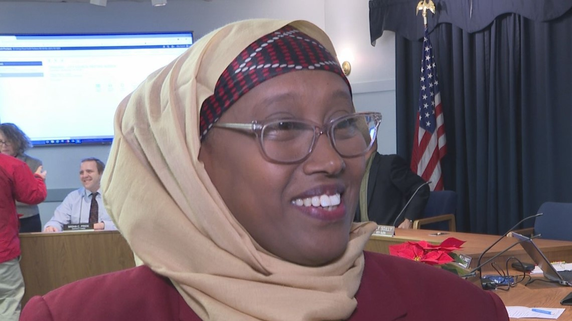 First Muslim, African American to be South Portland city councilor