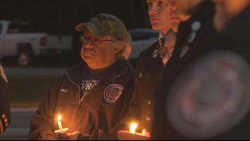 Nearly 100 miles away, candlelight vigil honors Farmington explosion victims