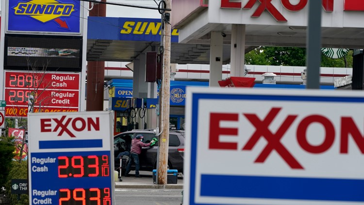 Gas prices in Maine are the highest since 2014