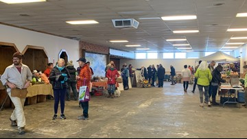 Bangor's Farmers Market heads indoors for the winter