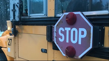 Bonny Eagle students unharmed after school bus crash in Limington