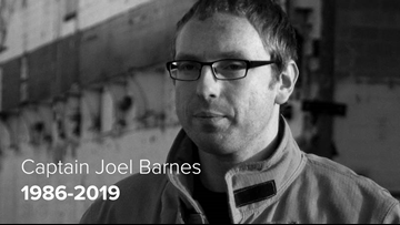 Saying Goodbye: Captain Joel Barnes