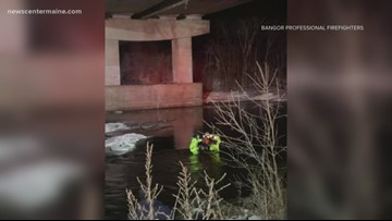 Man rescued from Kenduskeag Stream