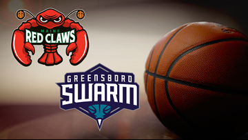Red Claws go back for seconds and thirds in Thanksgiving scoring feast
