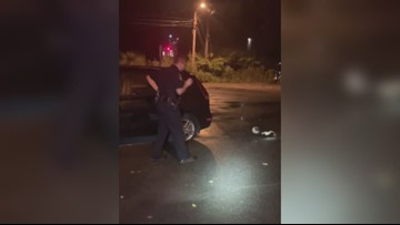 Waterville Police save a skunk