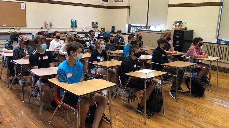 Bangor schools head back to full-time classes