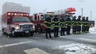 With heavy hearts, brotherhood of firefighters say farewell to Captain Joel Barnes