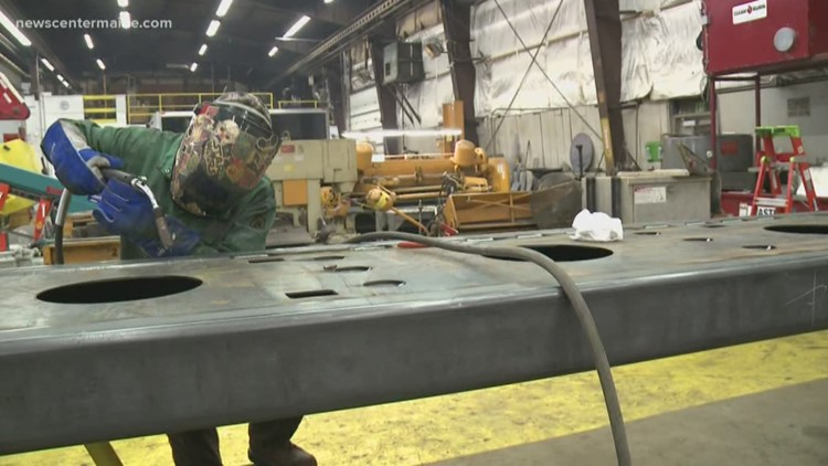 Works for ME: Local welder breaks down gender barriers in her trades career