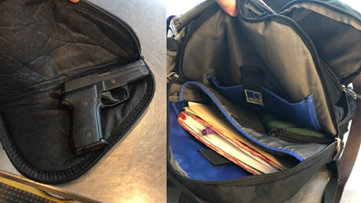 TSA catches second loaded gun at Portland Jetport in two days
