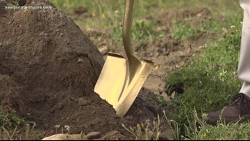 Orrington breaks ground on new public safety complex after years of controversy
