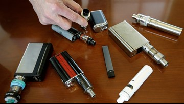 Massachusetts temporarily banning sale of vaping products