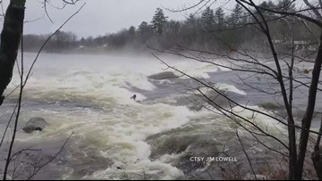 Boogie Boarders on Androscoggin