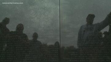 """Maine Vietnam veterans """"the wall"""""""