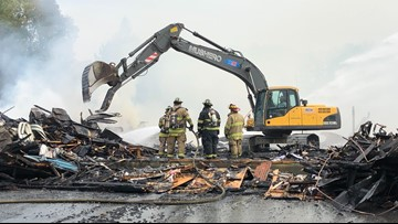 Winslow fire 'complete and utter devastation,' witness says