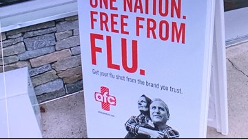 Flu cases on the rise in Maine