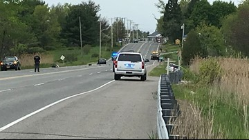 Crash closes section of Route 1 in Scarborough